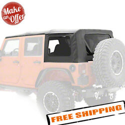 Smittybilt 9080235 Oem Replacement Soft Top For 2007-2009 Jeep Wrangler Jk 4 Dr