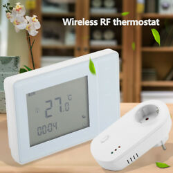 220V Wireless RF LCD Digital Heating Thermostat Temperature Controller HighQ