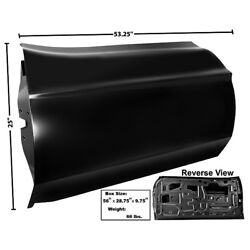 71 72 73 Mustang Custom Door Shell Panel Assembly No Handle And Lock Holes Right