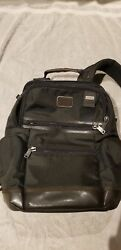 Tumi Alpha Bravo Men's Black Knox Backpack