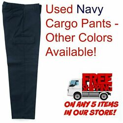 Used Uniform Work Pants Cargo Cintas Redkap Unifirst G&K Dickies and others $8.99
