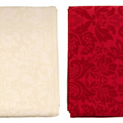 Luxury Tablecloth - Anti Stain Treatment - Large Sizes - Ref. Milano