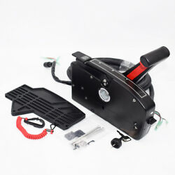 New Boat Side Outboard Mount Remote Control Box w 8 Pin 15ft Cable For Mercury