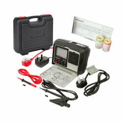 Megger Pat150 Portable Appliance Pat Tester With Rcd Testing And Extras Kit5m