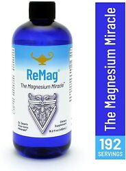 Dr Carolyn Dean's Remag Magnesium Miracle Pico-ionic 16 Fl Oz Authorized Seller