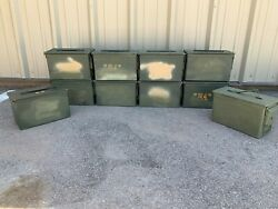 10 Pack | High Quality | Empty | 50 Cal | Ammo Can | Free Shipping