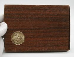 1971-s United States Eisenhower Silver Proof Dollar In Original Box 40 Silver