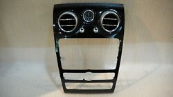 Bentley Continental Flying Spur Dash Center Air Vent With Trim 3w0919204s 1231