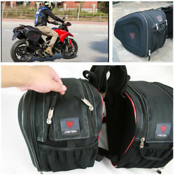 Motorcycle Saddle Luggage Pannier Waterproof Helmet Tank Bags with Rain Cover