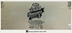 2014 Select Afl Honours Trading Card Factory Case 16 B+case Card-brownlow S1