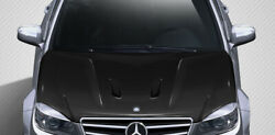 Carbon Creations Black Series Look Hood For 2008-2011 C Class W204