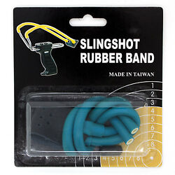 Wizard Slingshot Replacement Rubber Power Bands Magnum With Leather Pouch