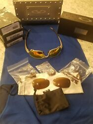 Oakley juliet x-metal RARE...serial #46!! Titanium w Original Gold Iridium Lens