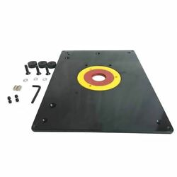 Router Table Insert Base Plate