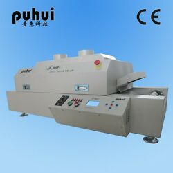 New Led T960 Reflow Oven Bga Smt Sirocco And Rapid Infrared Soldering Machine