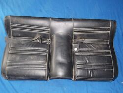 69 70 71 72 73 Ford Mustang Fastback Boss Lower Rear Seat Cushion Black 302 351