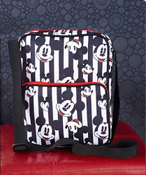 Crossbody Bags for Teens Mickey Mouse Small Purses Handbags White and Black