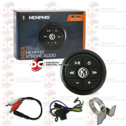 Memphis Marine Powersports Atv Boat Water Resist Bluetooth Controller W/ Aux-in