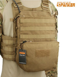 Outdoor Molle Hydration Bag Pouch Mutlicam Climbing Hiking for Modular Vest