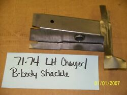 1971-74 Rh And Lh Charger/b-body Shackle Set - Classic Repro