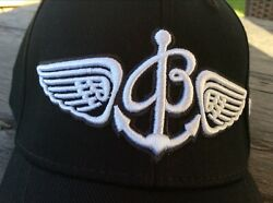 Breitling Baseball Cap Black x White Embroidery