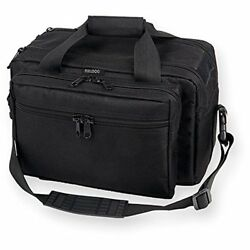Bulldog Cases X-Large Deluxe Black Range Bag with Pistol Rug