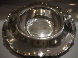 Vintage C.1930 Shreve And Co. Sterling Silver Dish Plate Stamped San Francisco