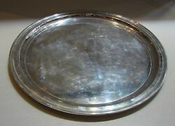 And Co. Makers Sterling Silver 21233 Tray Vintage Stamped Authentic