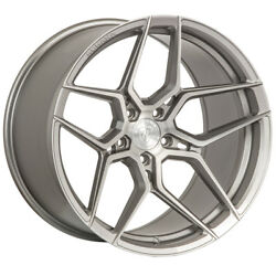 20 Rohana Rfx11 Titanium Forged Concave Wheels Rims Fits Ford Mustang Gt