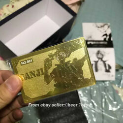 Only Show No.001 Model Palace M Sanji Dtjp001 Golden Square Card Has Sold
