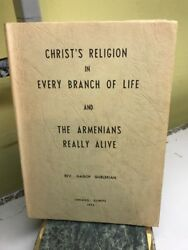 Christand039s Religion In Every Branch Of Life And Armenians Really Alive 1974 Bb6