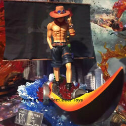 Mobius Portgas·d· Ace Gk One Piece Sculpture Figure Model Resin In Stock