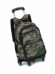 Meetbelify Trolley School Bags Backpack For Boys With Wheels Climbing Stairs