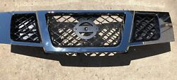 New Oem Factory 2007-2016 Nissan Armada Dark Chrome Grille Assembly
