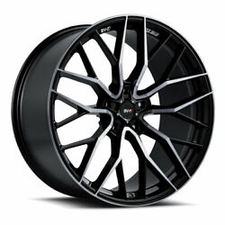 20 Savini Sv-f2 Forged Tinted Concave Wheels Rims Fits Ford Mustang Gt