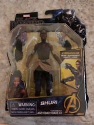 Marvel BLACK PANTHER movie SHURI  Vibranium Gear Marvel Legends