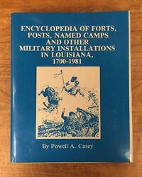 Louisiana Military History Forts Posts Named Camps 1700-1981
