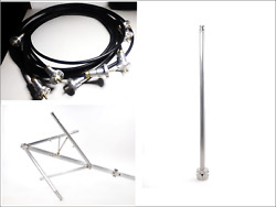 4bays High Power Fm Antenna System Eia Flange Jumper Cables Not Included