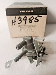 NOS VULCAN HV100 HEATER TEMPERATURE REGULATOR VALVE 1955 1956 1957 THUNDERBIRD