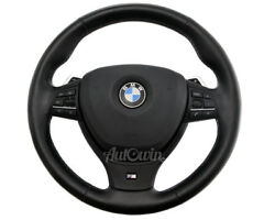 BMW M5 Series Leather Steering Wheel F10 F11 F07 F06 F12 F13 OEM 32337845949