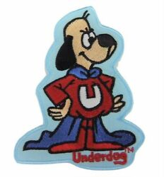Underdog Cartoon Figure Embroidered 3 1/2 Tall Patch