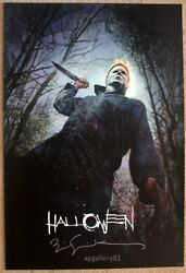 Sdcc 2018 Exclusive Halloween Print By Bill Sienkiewicz Signed 27andrdquox 40andrdquo Signed