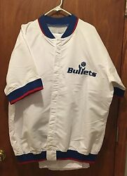 Champion Washington Bullets Wizards Webber Pro Cut Player Issued Jersey Size 50
