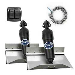 Bennett Complete Kit Bolt Electric Trim Tab Systems With Rocker Switch 12x9 In