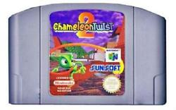 Chameleon Twist 2 NM Cartridge N64 Nintendo 64 Video Game