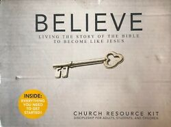 Believe Church Resource Kit Living The Story Of The Bible