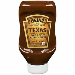Heinz Bbq Sauce, Bold And Spicy Texas, 475ml, 1ct - {imported From Canada}