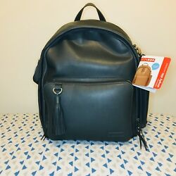 Skip Hop Greenwich Simply Chic Baby Diaper Bag Backpack w Changing Pad Smersh
