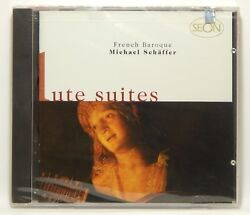 French Baroque Lute Suites / Michael Schaffer New Cd Jun-1997, Sony / Seon
