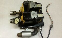 Parker Air Solenoid Valves With Pressure Regulator And Manifold Stack And Muffler